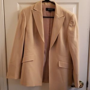 Kasper 6P Suit Khaki Colored NWOT